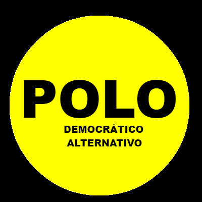 Logo Polo Democrático Alternativo