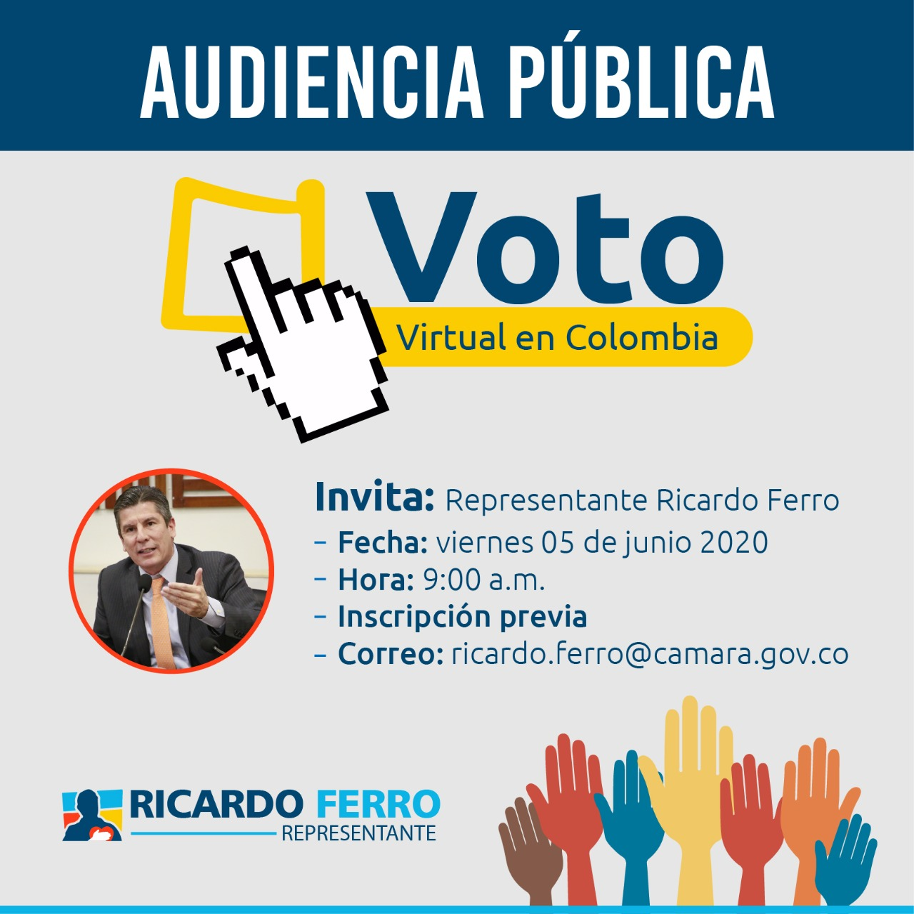 AUDIENCIA JUNIO 5 DE 2020 VOTO VIRTUAL